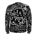 Panic ! At The Disco Lyric Quotes Men s Sweatshirt View1