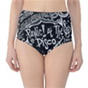 Panic ! At The Disco Lyric Quotes High-Waist Bikini Bottoms View1
