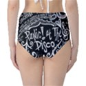Panic ! At The Disco Lyric Quotes High-Waist Bikini Bottoms View2
