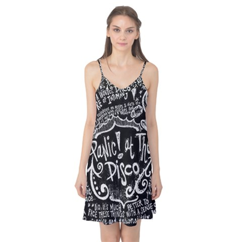 Panic ! At The Disco Lyric Quotes Camis Nightgown