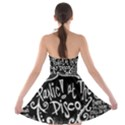 Panic ! At The Disco Lyric Quotes Strapless Bra Top Dress View2