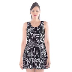 Panic ! At The Disco Lyric Quotes Scoop Neck Skater Dress