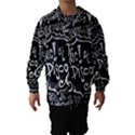 Panic ! At The Disco Lyric Quotes Hooded Wind Breaker (Kids) View1