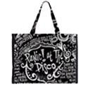 Panic ! At The Disco Lyric Quotes Large Tote Bag View1