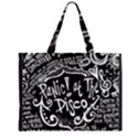 Panic ! At The Disco Lyric Quotes Large Tote Bag View2
