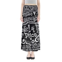 Panic ! At The Disco Lyric Quotes Maxi Skirts