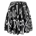 Panic ! At The Disco Lyric Quotes High Waist Skirt View2