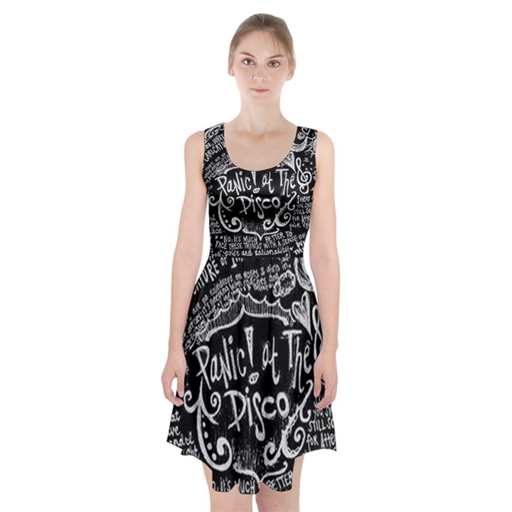 Panic ! At The Disco Lyric Quotes Racerback Midi Dress