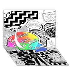 Panic ! At The Disco Circle 3d Greeting Card (7x5)