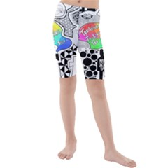 Panic ! At The Disco Kids  Mid Length Swim Shorts