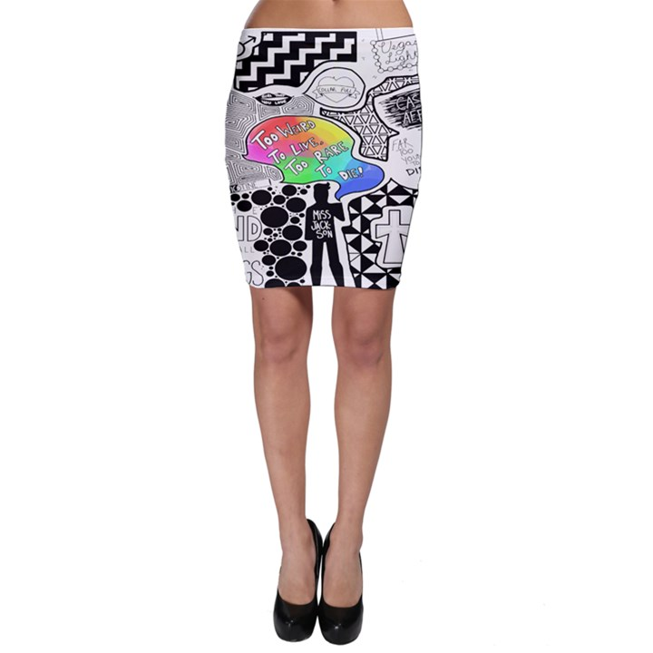 Panic ! At The Disco Bodycon Skirt