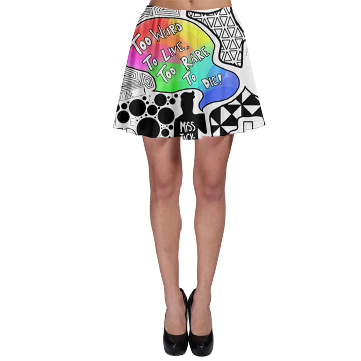 Panic ! At The Disco Skater Skirt