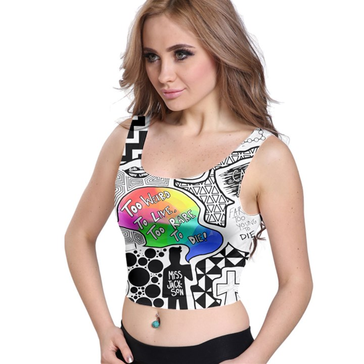 Panic ! At The Disco Crop Top
