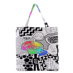 Panic ! At The Disco Grocery Tote Bag