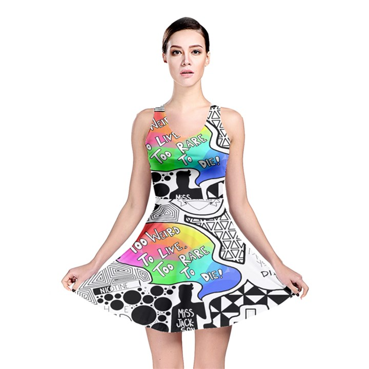 Panic ! At The Disco Reversible Skater Dress