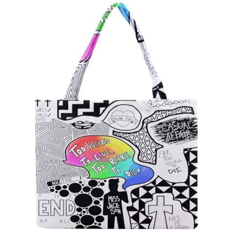 Panic ! At The Disco Mini Tote Bag