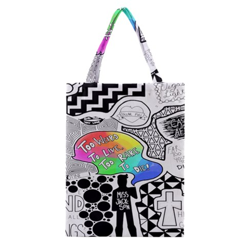 Panic ! At The Disco Classic Tote Bag