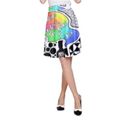 Panic ! At The Disco A-Line Skirt