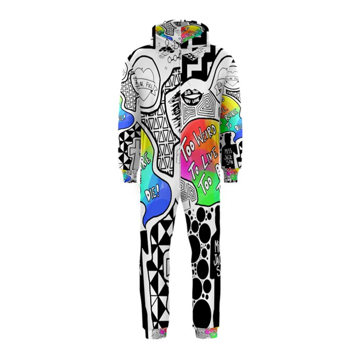 Panic ! At The Disco Hooded Jumpsuit (Kids)