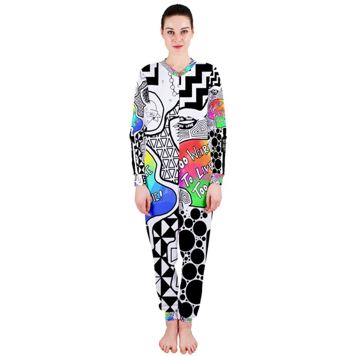 Panic ! At The Disco OnePiece Jumpsuit (Ladies)