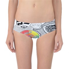 Panic ! At The Disco Classic Bikini Bottoms