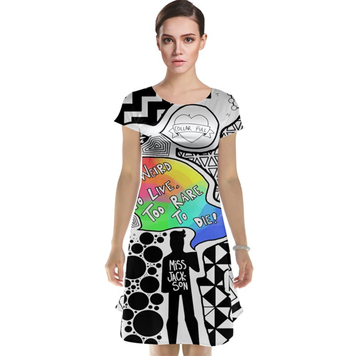 Panic ! At The Disco Cap Sleeve Nightdress