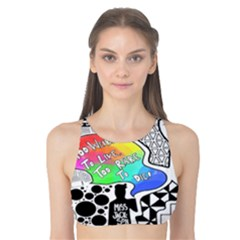 Panic ! At The Disco Tank Bikini Top