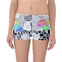 Panic ! At The Disco Reversible Boyleg Bikini Bottoms View3