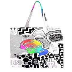 Panic ! At The Disco Large Tote Bag