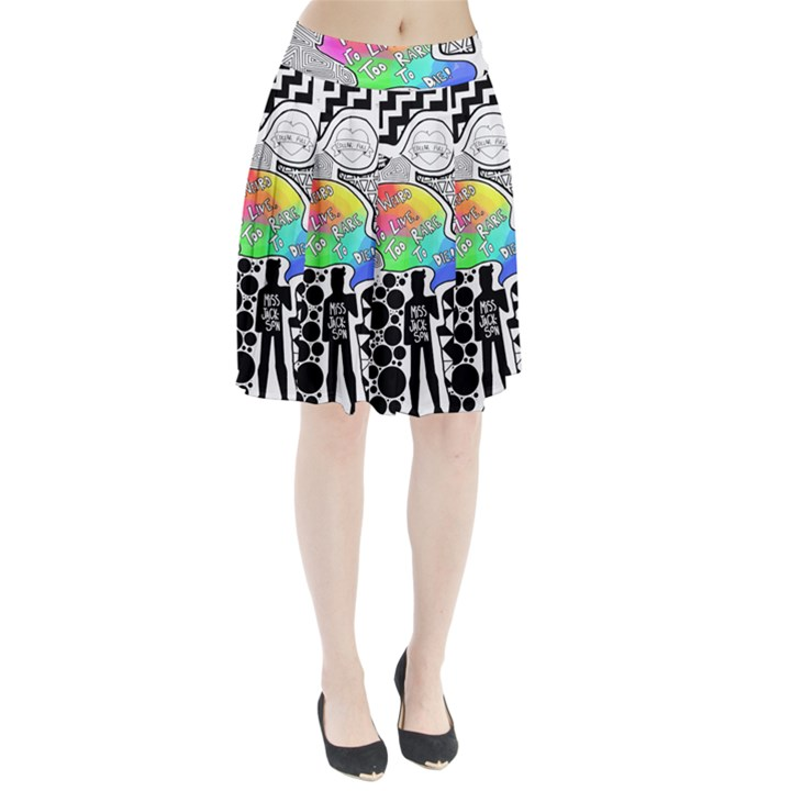 Panic ! At The Disco Pleated Skirt