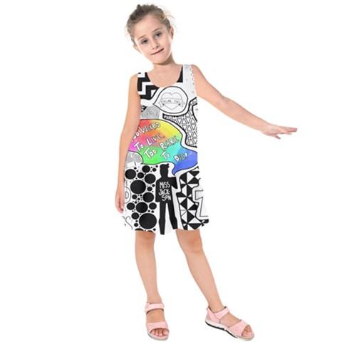 Panic ! At The Disco Kids  Sleeveless Dress