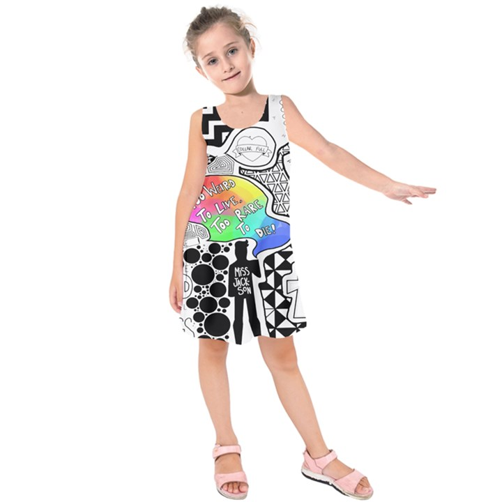 Panic ! At The Disco Kids  Sleeveless Dress
