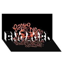 Panic At The Disco   Lying Is The Most Fun A Girl Have Without Taking Her Clothes ENGAGED 3D Greeting Card (8x4)