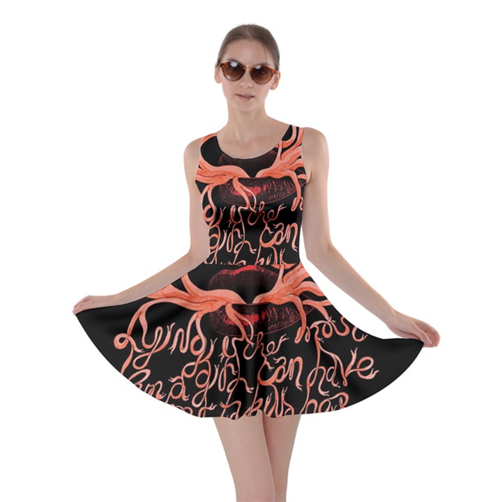 Panic At The Disco   Lying Is The Most Fun A Girl Have Without Taking Her Clothes Skater Dress
