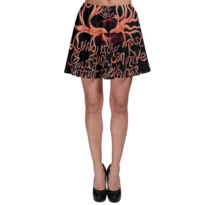 Panic At The Disco   Lying Is The Most Fun A Girl Have Without Taking Her Clothes Skater Skirt