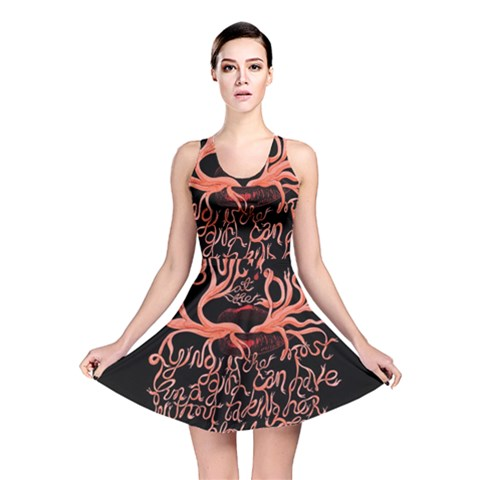Panic At The Disco   Lying Is The Most Fun A Girl Have Without Taking Her Clothes Reversible Skater Dress