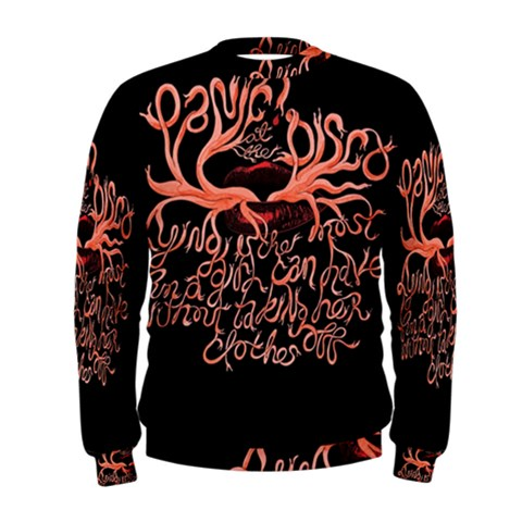 Panic At The Disco   Lying Is The Most Fun A Girl Have Without Taking Her Clothes Men s Sweatshirt