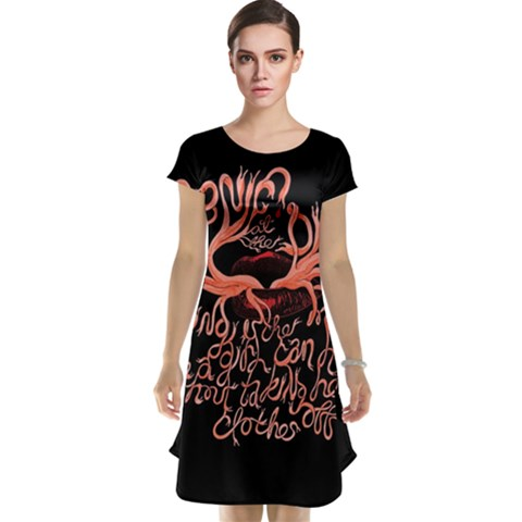 Panic At The Disco   Lying Is The Most Fun A Girl Have Without Taking Her Clothes Cap Sleeve Nightdress