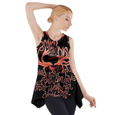 Panic At The Disco   Lying Is The Most Fun A Girl Have Without Taking Her Clothes Side Drop Tank Tunic