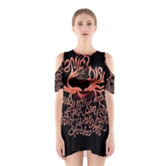 Panic At The Disco   Lying Is The Most Fun A Girl Have Without Taking Her Clothes Cutout Shoulder Dress