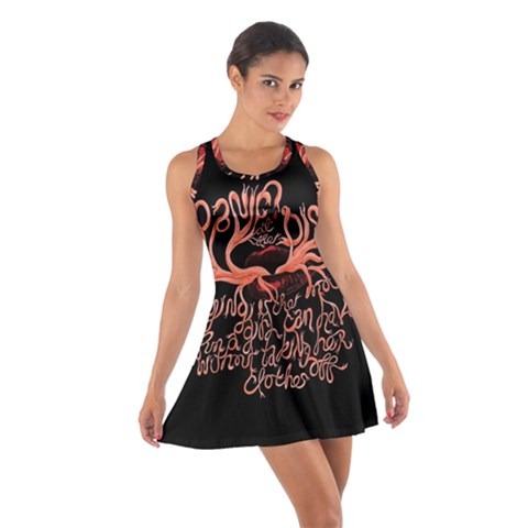 Panic At The Disco   Lying Is The Most Fun A Girl Have Without Taking Her Clothes Cotton Racerback Dress