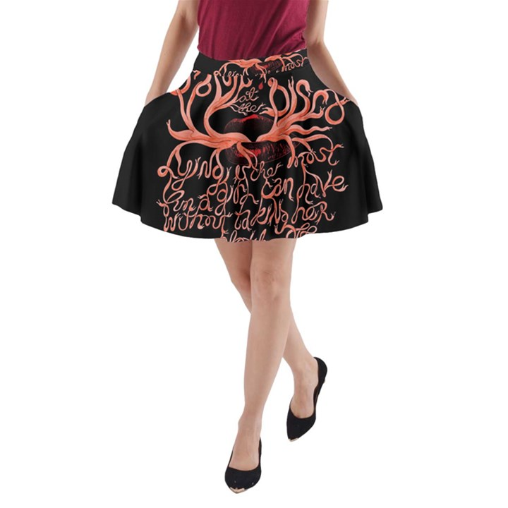 Panic At The Disco   Lying Is The Most Fun A Girl Have Without Taking Her Clothes A-Line Pocket Skirt