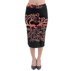 Panic At The Disco   Lying Is The Most Fun A Girl Have Without Taking Her Clothes Midi Pencil Skirt