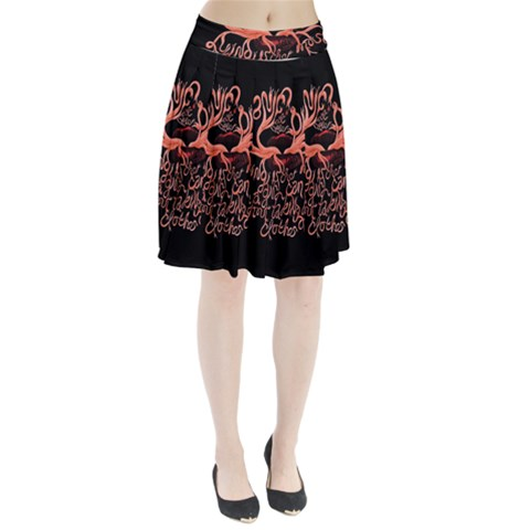 Panic At The Disco   Lying Is The Most Fun A Girl Have Without Taking Her Clothes Pleated Skirt