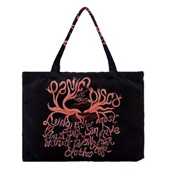 Panic At The Disco   Lying Is The Most Fun A Girl Have Without Taking Her Clothes Medium Tote Bag