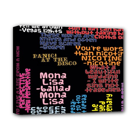 Panic At The Disco Northern Downpour Lyrics Metrolyrics Deluxe Canvas 14  x 11