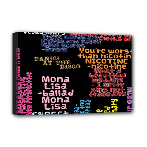Panic At The Disco Northern Downpour Lyrics Metrolyrics Deluxe Canvas 18  X 12