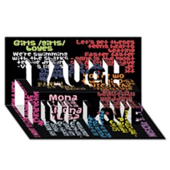 Panic At The Disco Northern Downpour Lyrics Metrolyrics Laugh Live Love 3D Greeting Card (8x4)