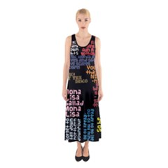 Panic At The Disco Northern Downpour Lyrics Metrolyrics Sleeveless Maxi Dress