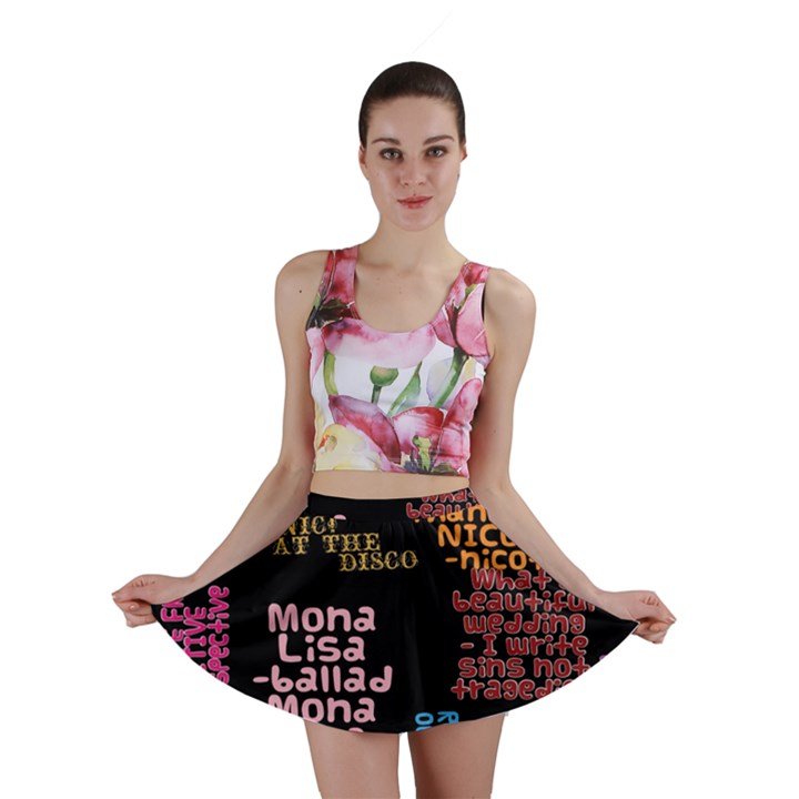 Panic At The Disco Northern Downpour Lyrics Metrolyrics Mini Skirt
